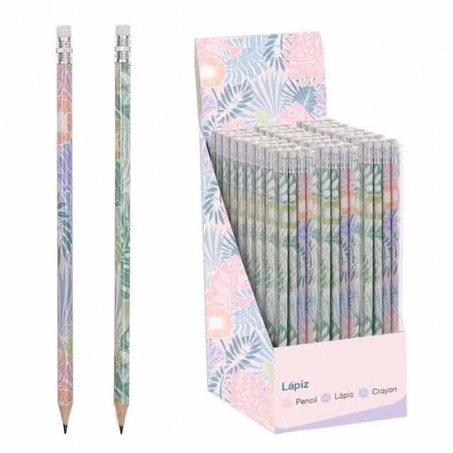 Lápices tropical pack de 8 unidades (4 de cada color)
